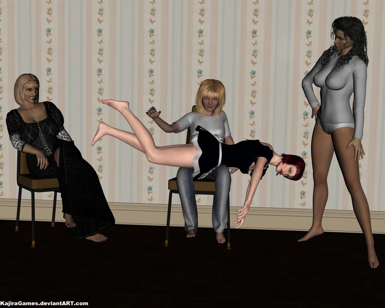 Stacy keibler spank