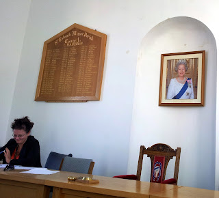 Photo of Helen Ollett-Nash at St Columb Major Town Hall