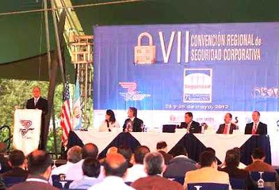 VII Convención Regional sobre Seguridad Corporativa 2012 en Antigua Guatemala