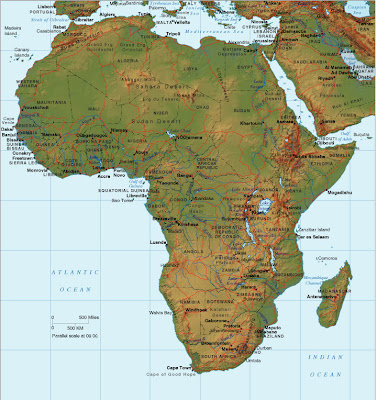 Afrika Karte Bilder Fotos