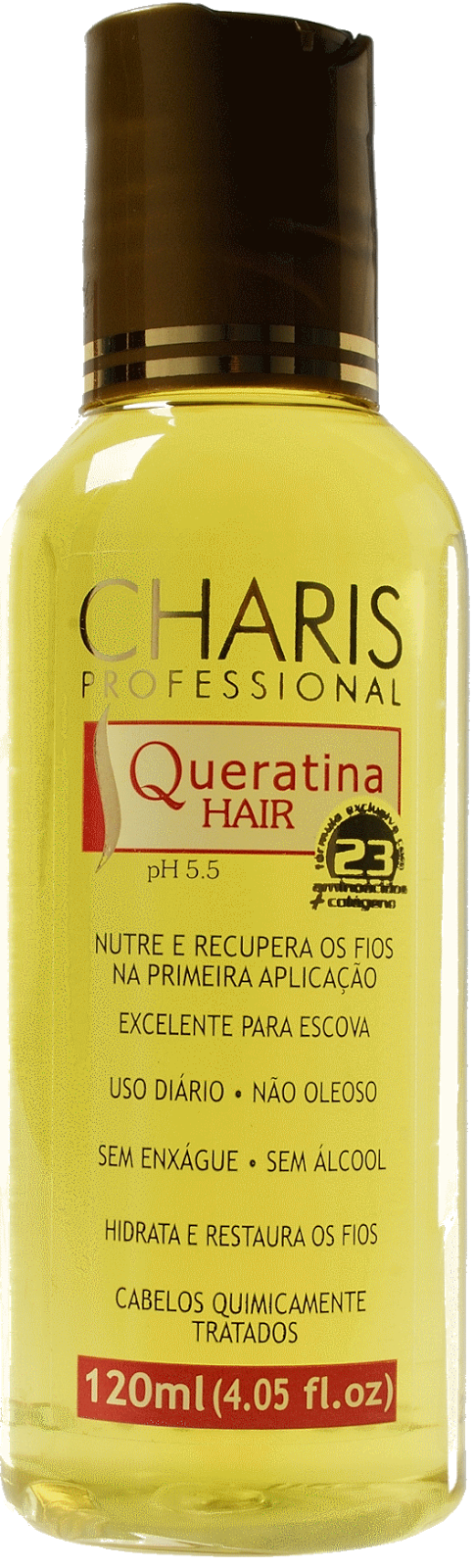 Queratina Charis Professional - Tratamento para repor a Queratina perdida dos cabelos.