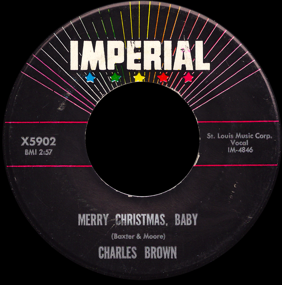 charles brown merry christmas baby imperial 5902