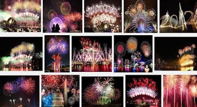 Pesta Kembang Api di Dunia