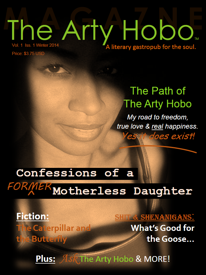 Go to: The Arty Hobo Magazine http://joom.ag/ZgvX