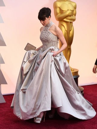 Felicity Jones en los Oscar 2015