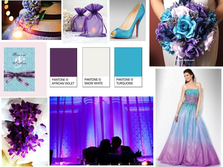 a bright tropical turquoise For your wedding colors you can beautifully