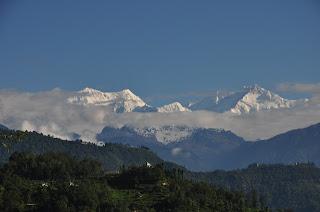 Mt. Kanchenjunga, Tadong - Rinchenpong, West Sikkim