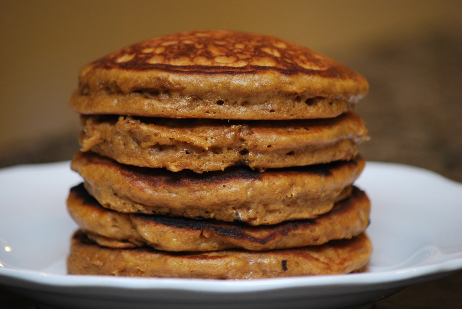 My story in recipes: GIngerbread Pancakes