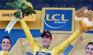 CICLISMO-Cadel Evans campeón del Tour de Francia 2011