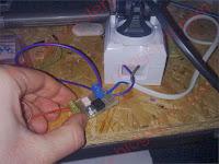 Sterownik gniazdka sieciowego z panelem dotykowym