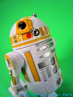 R2-Series Astromech Droid White and Yellow