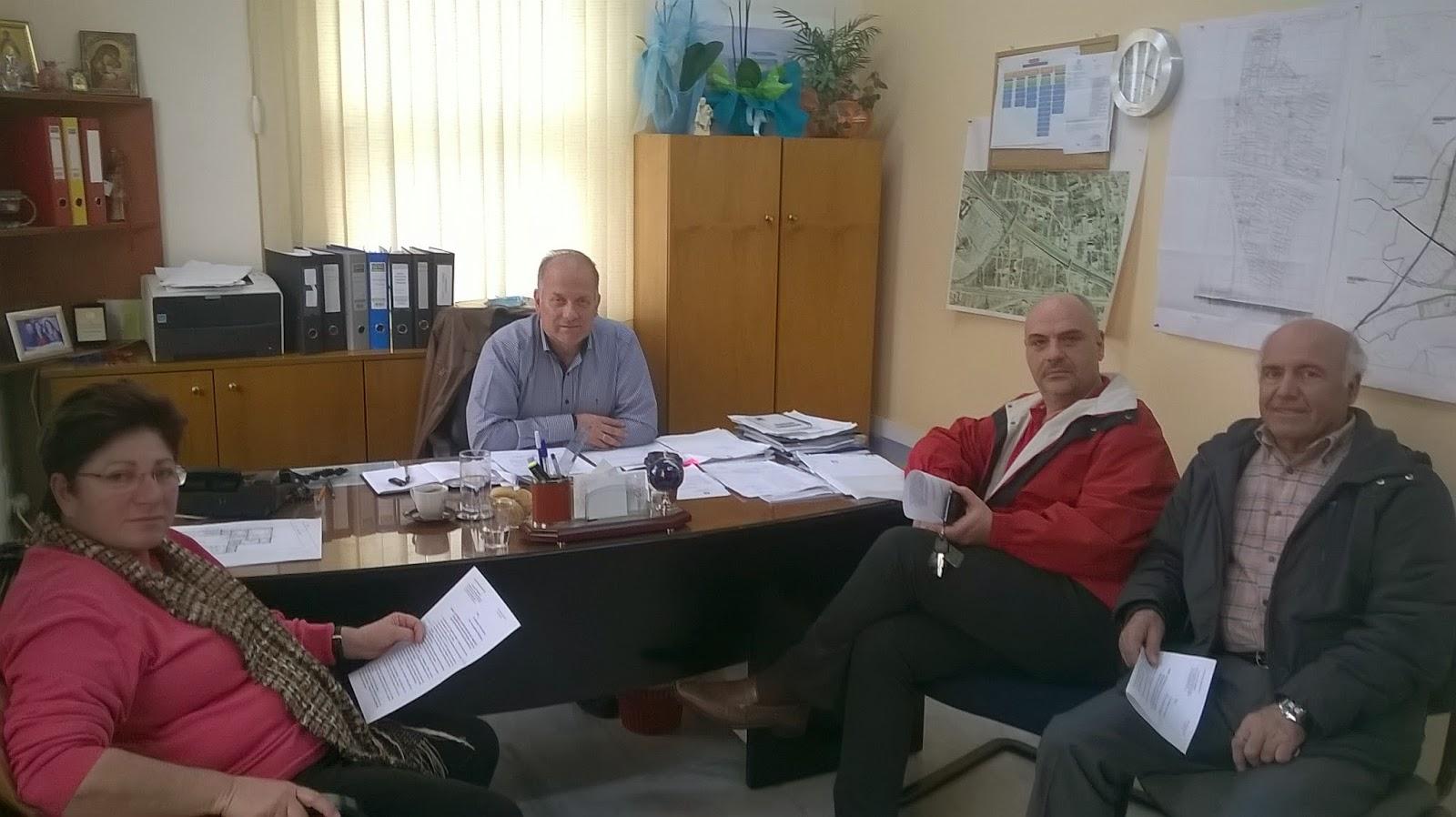 Συνάντηση Συλλόγου Ζωφριάς  με τον Αντιδήμαρχο Τεχνικών Υπηρεσιών.