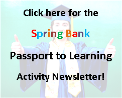 Spring Activity Newsletter