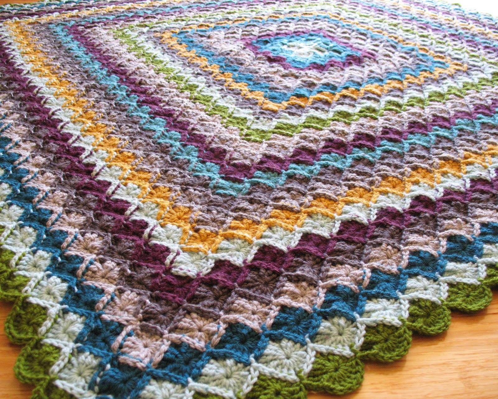 eclectic me: wool eater blanket CAL week 8ish...