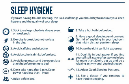 Printables Sleep Hygiene Worksheet sleep hygiene therapists hygienerem calculatorcircadian rhythm meaning plans download