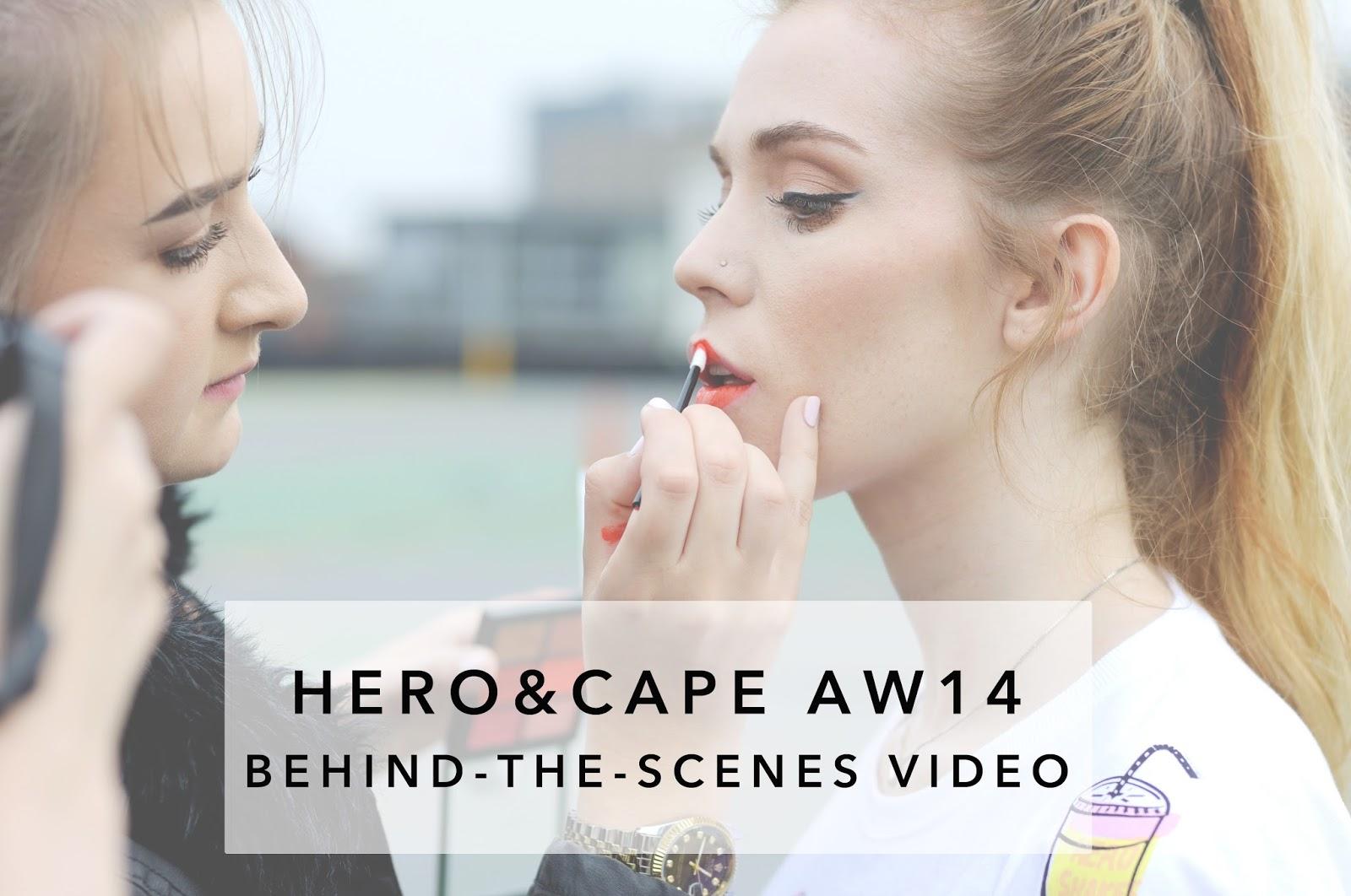 hero&cape photoshoot, hero and cape autumn winter 2014, hero and cape tshirts, hero and cape