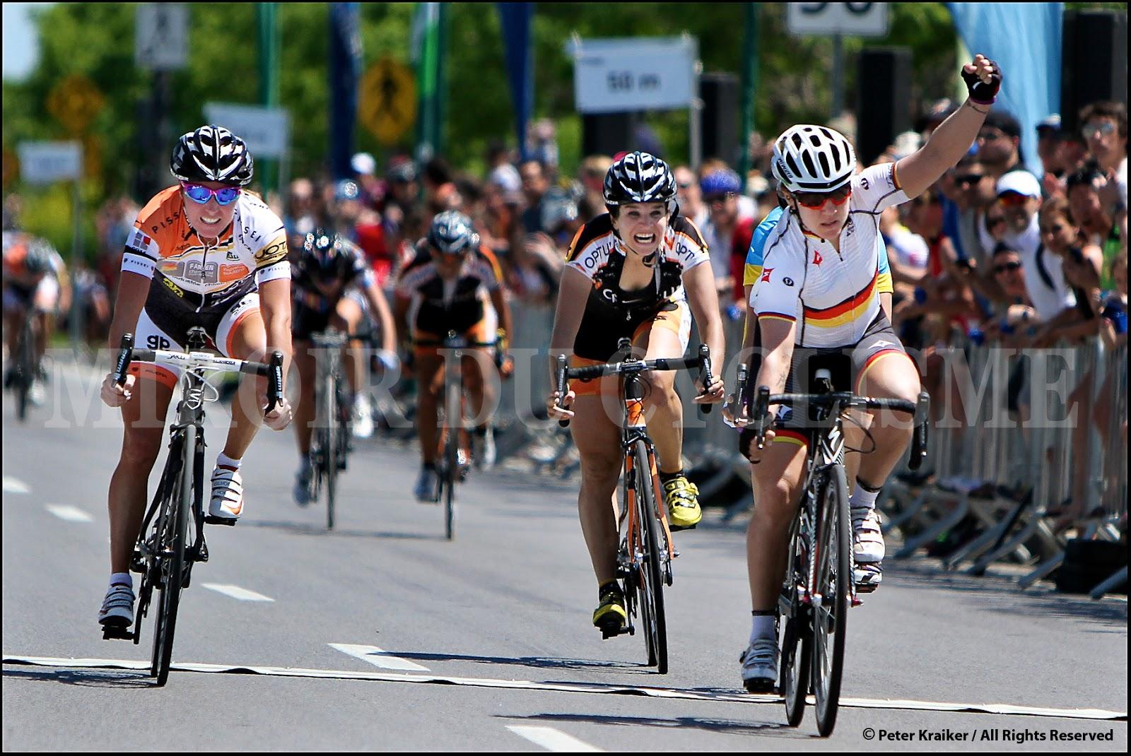 Teutenberg wins gatineau women 39 s road race numainville for Miroir du cyclisme