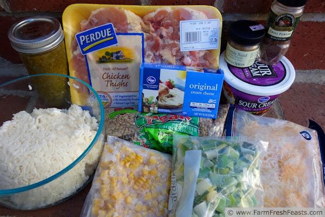 http://www.farmfreshfeasts.com/2013/05/mexican-chicken-lentil-rice-bake-salad.html