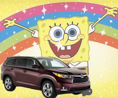 2014 Toyota Highlander, Lou Fusz, Spongebob Squarepants, New York Auto Show