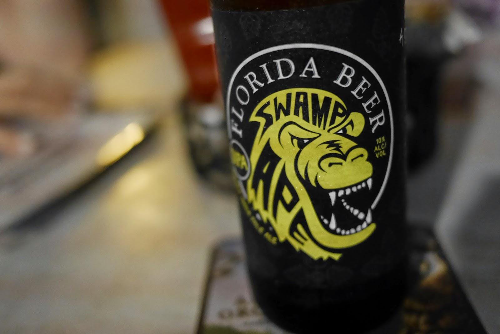 swamp ape ipa florida beer company, celebration town tavern orlando florida