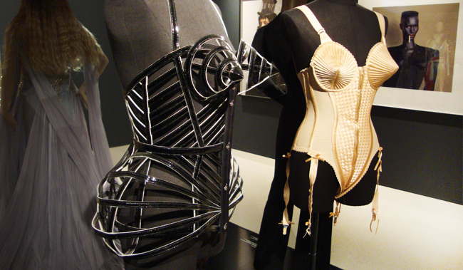 Jean Paul Gaultier, Cone Bra, Madonna, Corset, Blonde Ambition