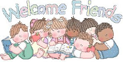 Welcome Friends Giveaway