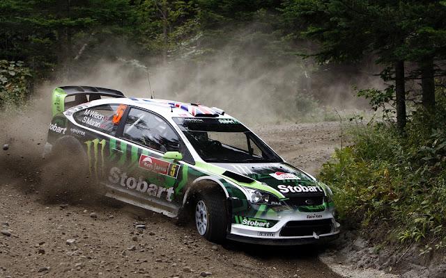 Rally Ford Car