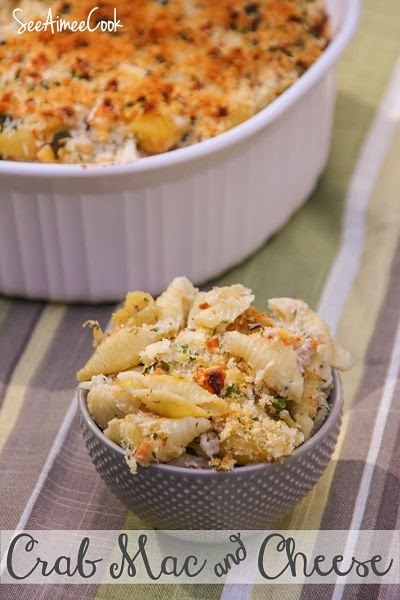 See Aimee Cook: Crab Mac and Cheese