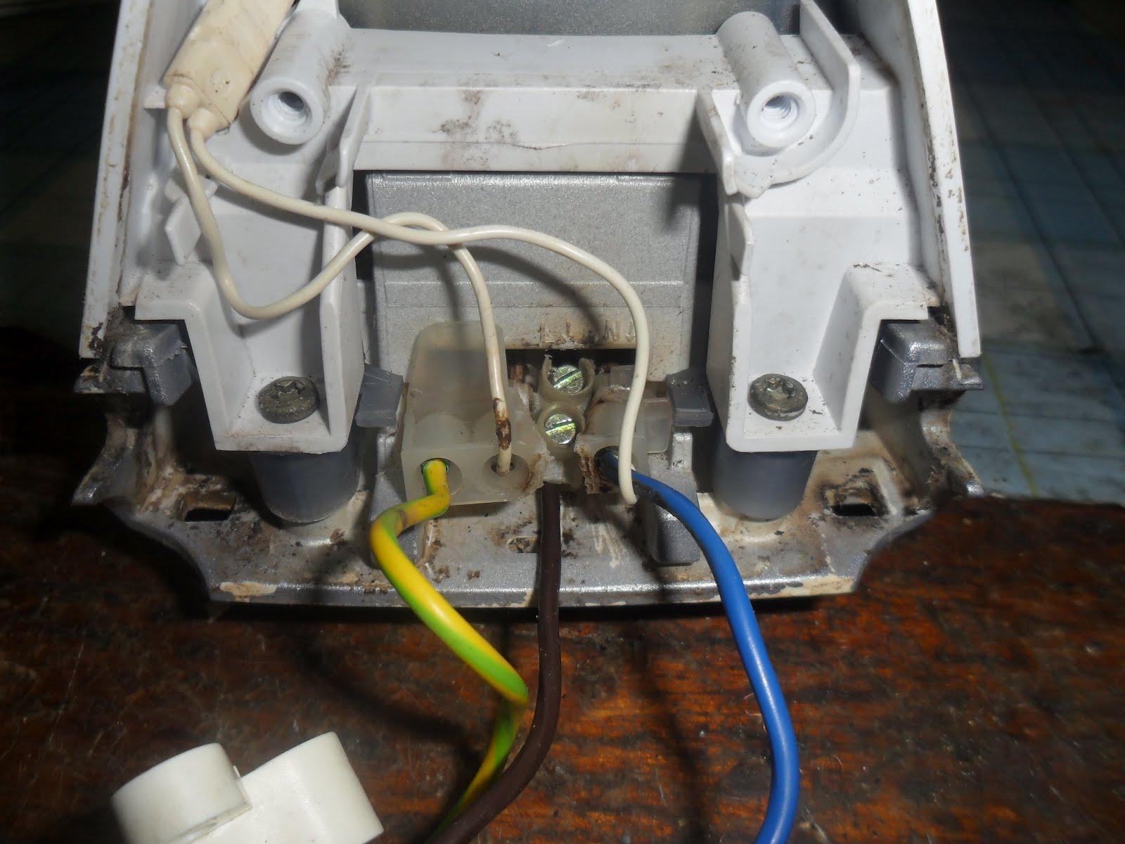 электрическая схема подключения электроутюга