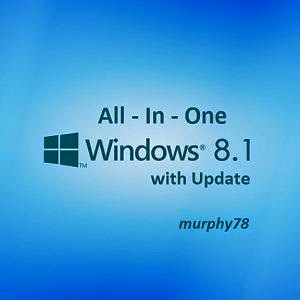 Windows 8.1 AIO 52in1