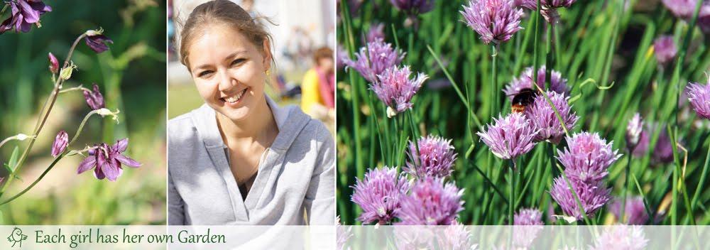 Nastya's blog. Each girl has her own Garden