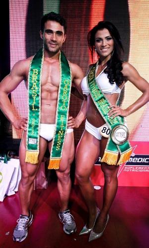 Junior Moreno e Marissol Dias