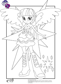 mlp twilight sparkle equestria girls coloring pages