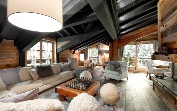Warm Interior Design World Of Architecture Warm Interior Design Idea From French Alps