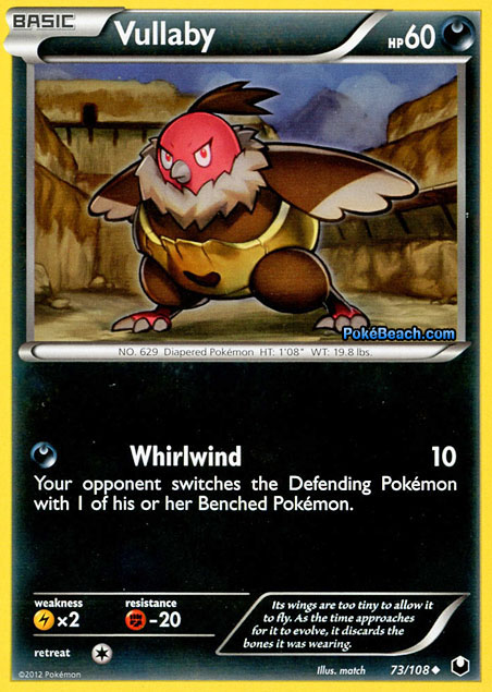 Vullaby -- Dark Explorers Pokemon Card Review ...
