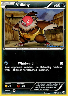 Vullaby Dark Explorers Pokemon Card