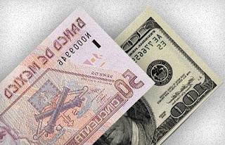 Equivalencia de pesos en dolares