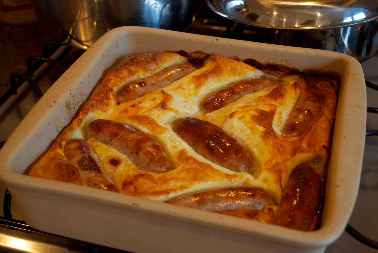 My Daddy Cooks us Toad in the Hole - Sticky FingersSticky Fingers