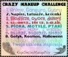 Projekt Crazy makeup challenge