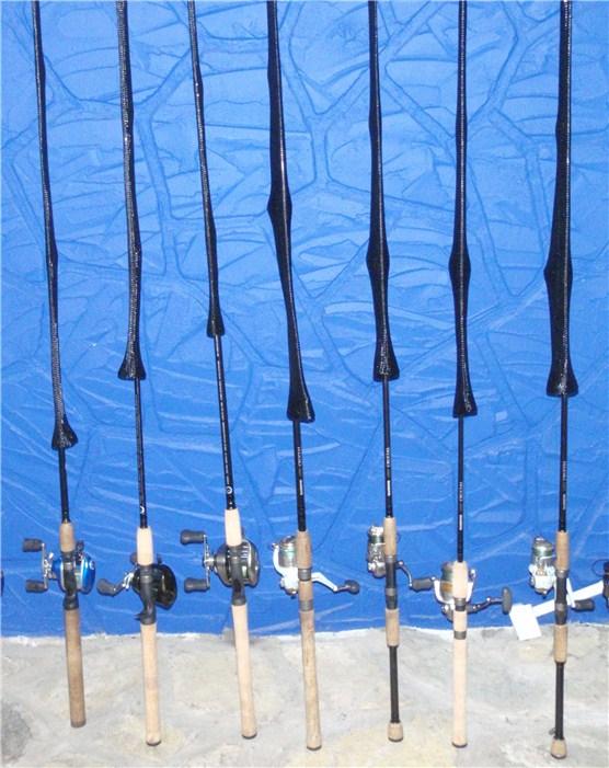 Bass junkies fishing addiction product review cc rod sock for Fishing rod socks