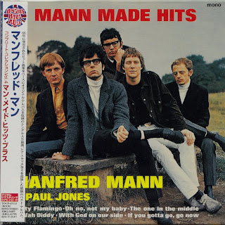 MANFRED MANN - MANN MADE HITS (HIS MASTER\'S VOICE 1966) Jap mastering cardboard sleeve + 13 bonus