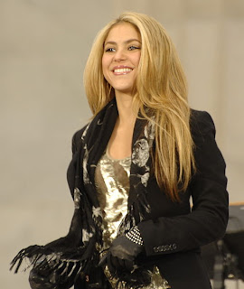Shakira is one of the most popular twitter celebrities