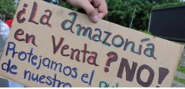 Por la Amazonía