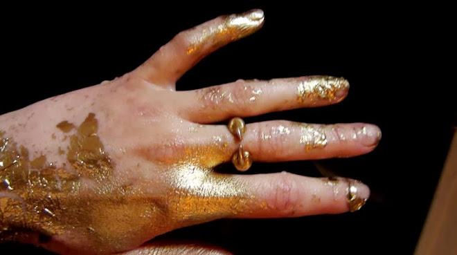 main dorée