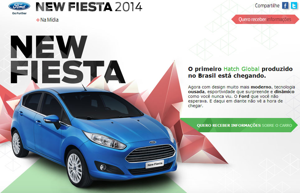 Nuevo restyling del Ford Fiesta Kinect 2014 para Argentina