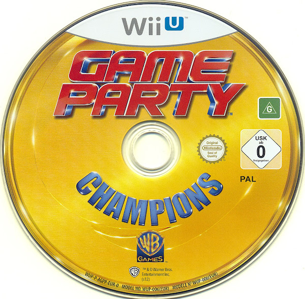 Label Game Party Champions Wii U