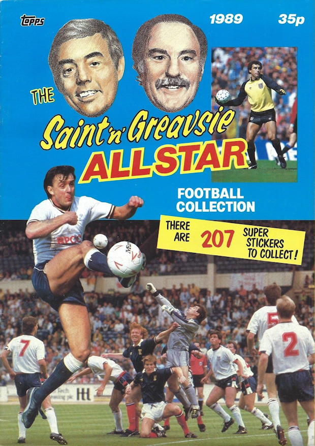 TOPPS SAINT /& GREAVSIE CARDS 1988 ***PICK THE CARDS YOU NEED*** G