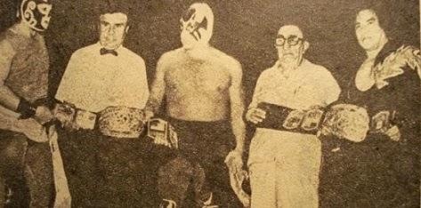 Luchadores Los Infernales Tercias Con Los Infernales