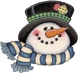 Dibujos caras munecos de nieve imagenes y dibujos para for Figuras de nieve navidenas