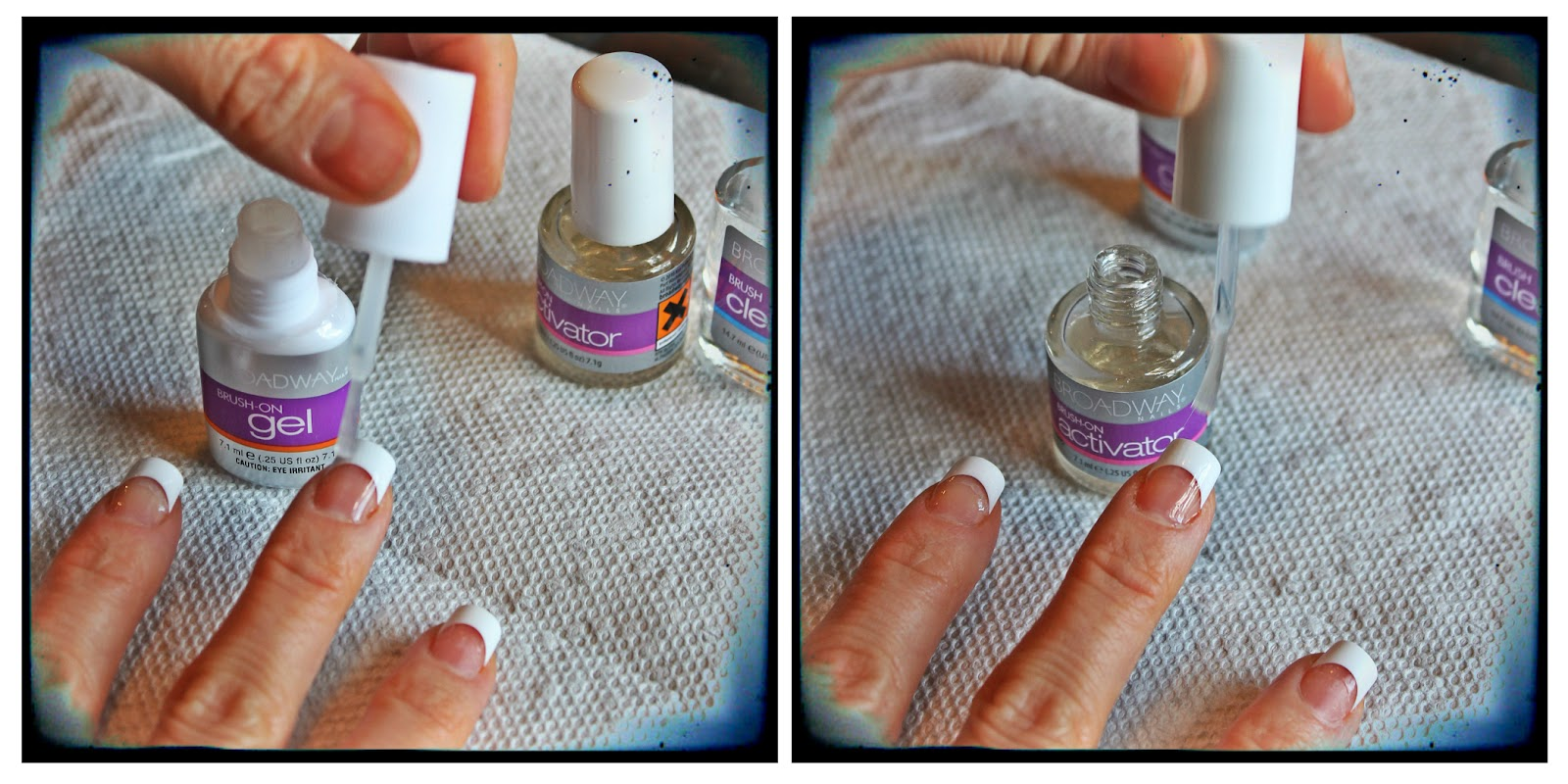 Dear Demure,: The Fancy, Salon Nails At Home - Tutorial & Review.